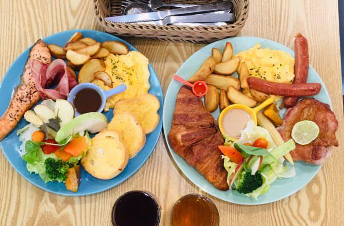 [ 食,台中 ] 嘻樹早午餐,份量多又美味,CP值高,台中西區平價早午餐,氛圍溫馨,親子聚餐、朋友聚餐都合適