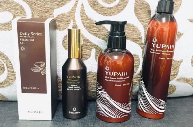 [ 好物 ] Yupalii語白翊翊,MIT專業髮品,造型系列讓我髮絲更健康,捲度持久又有光澤