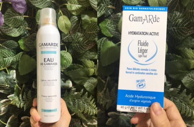 [ 好物 ] 法國GAMARDE珂瑪德舒緩活泉噴霧、長效玻尿酸保濕乳霜-清爽型,天然保養品滋潤肌膚,維持平衡,水嫩每一天