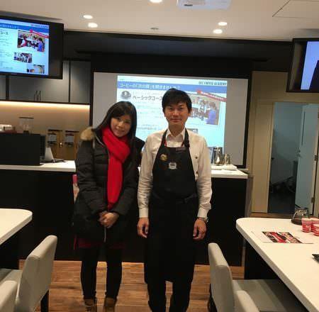 [ 東京學咖啡 ] UCC咖啡part2-咖啡課,講師超可愛