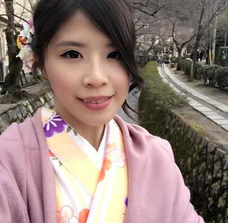 [ 2017一個人的京阪神 ] Day2-京都-寧靜美好的銀閣寺、哲學之道,不管多冷都要穿和服