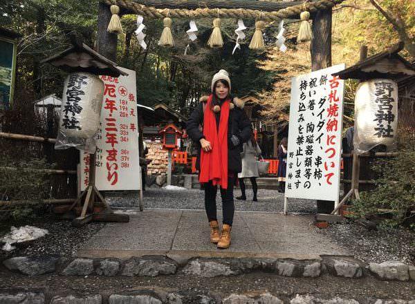 [ 2017一個人的京阪神 ] Day3-京都-渡月嵐山,野宮神社,清幽竹林裡的真心祈願