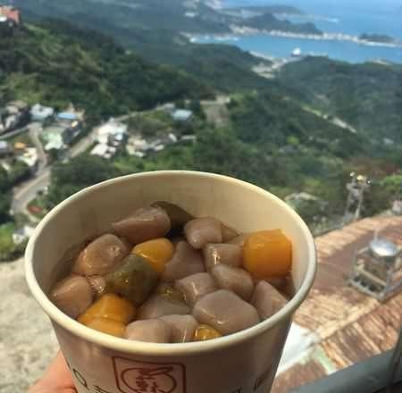 [ 食,九份 ] 阿柑姨芋圓,九份必吃特產,邊欣賞風景邊品嚐芋圓是人生一大樂事~