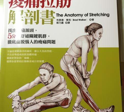 [ 運動好書 ] 痠痛拉筋解剖書,找出疼痛源頭,徹底擺脫惱人酸痛問題