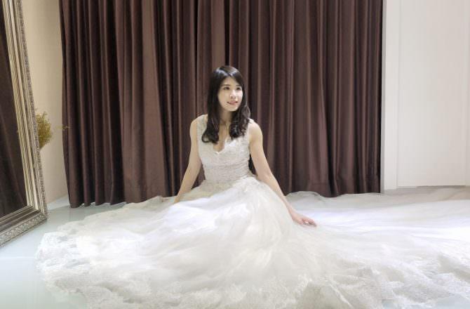 [ 婚紗 ] 誰說結婚才能穿婚紗?蘿蔓蘿蘭 romanrolan 法式手工婚紗,為我紀錄屬於我的輝煌年代