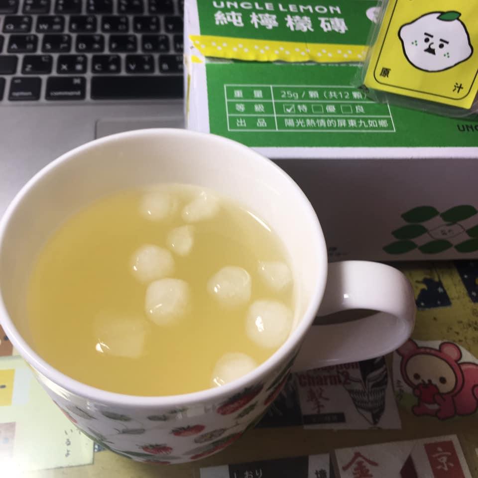 Uncle lomon檸檬大叔100%純檸檬磚