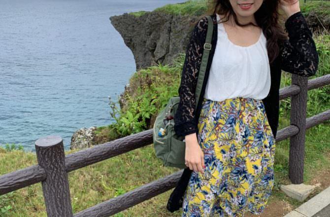 [ 2019沖繩 ] 萬座毛象鼻岩、古宇利島看海踩沙,徜徉在大自然的美好風景~