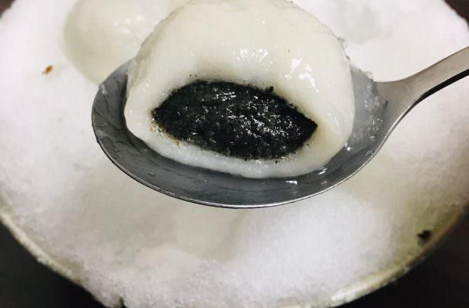 [ 食,台北 ] 御品元冰火湯圓,傳統手作芝麻元宵,冰火湯圓超特別,又美味,難怪元宵節大爆滿~