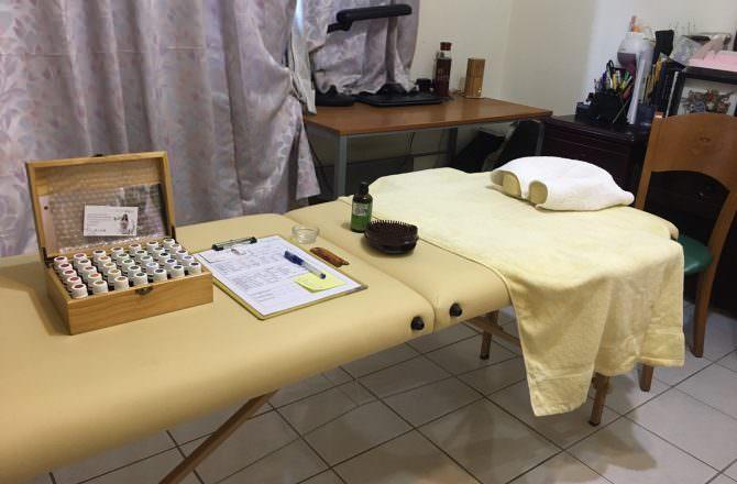 芳療客人回饋-身體很放鬆、心情很愉快(項目:心輪按摩、肩頸按摩、頭皮刮療)