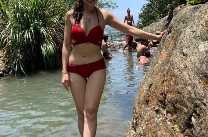 [ 遊,宜蘭礁溪 ] 五峰旗瀑布、猴洞坑瀑布,礁溪附近親山景點,泡泡溪水超消暑