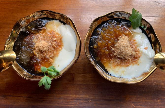 [ 食,宜蘭 ] 白水豆花礁溪店,富創意的特別口味加上香滑嫩彈口感,想吃要有排隊的準備哦
